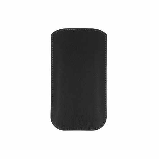 Freenet Basics Easy Sleeve XL Smartphonehülle Case Schutzhülle für iPhone, schwarz
