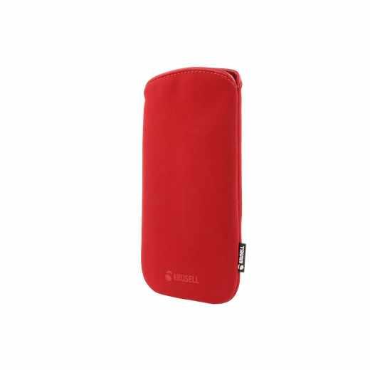 Krusell Eriksberg Pouch Universal 4XL Schutzhülle Tasche Case Etui Schale rot