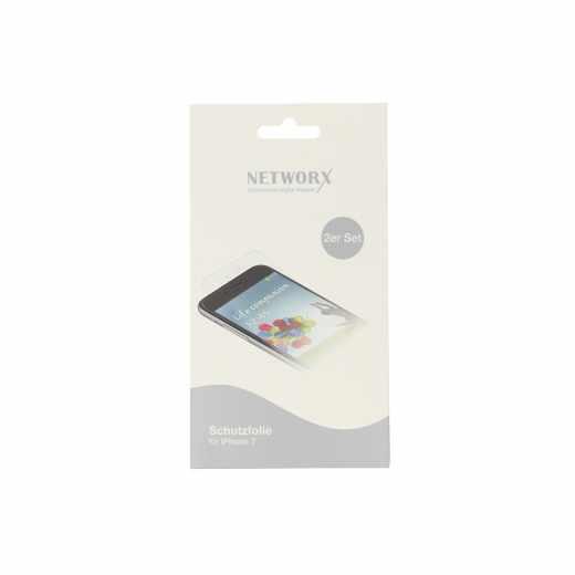 Networx Displayschutzfolie Abdeckung protective für iPhone 7 transparent - neu