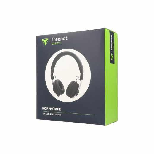 freenet Bacics Bluetooth onEar Headset Kopfhörer schwarz - neu