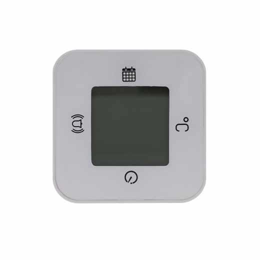 Networx Digital Clock WAKEUP! Uhr Wecker Timer Temperatur Digitalwecker weiß
