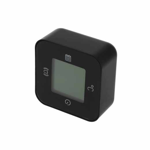 Networx Digital Clock WAKEUP! Uhr Wecker Timer Temperatur Digitalwecker schwarz