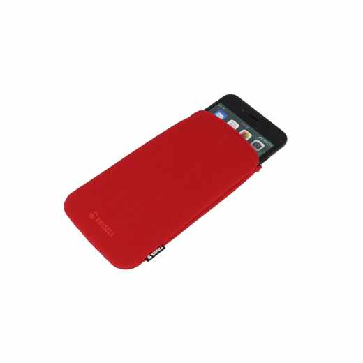 Krusell Eriksberg Pouch 5 XL Smartphonetasche Handyhülle Schutzhülle Etui rot