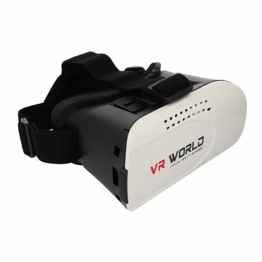 SMARTBOOK VR Glases Virtual Reality Brille für Smartphone schwarz weiß - neu