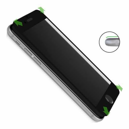 CASEual Displayschutzglas für Apple iPhone 7 Plus schwarz - neu