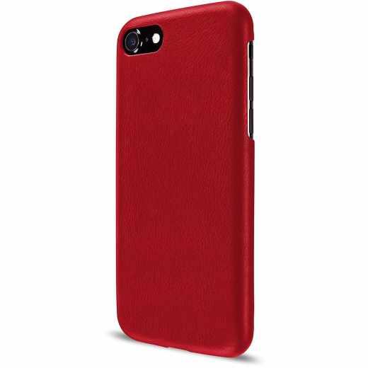 Artwizz Leather Clip Schutzhülle für Apple iPhone 7 Cover Case Leder rot