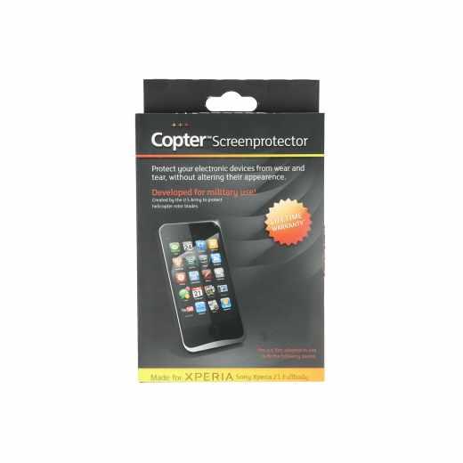 Copter Fullbodyfilm Handy-Display-Schutzfolie für Sony Xperia Z1 Panzerglas