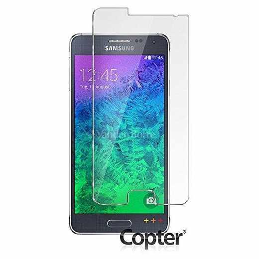 Copter Panzerglas ImpactProtector Handy-Schutz-Glas für Samsung Galaxy Alpha