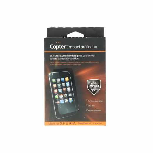 Copter Panzerglas ImpactProtector Handy-Schutz-Glas für Sony Xperia Z1 Compact, transparent