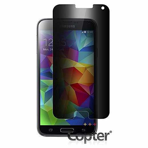 Copter Privacyfilter Samsung Galaxy S5 Displayschutz Smartphone