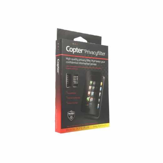 Copter Privacyfilter Sony Xperia Z3 Displayschutz Schutzfolie Smartphone