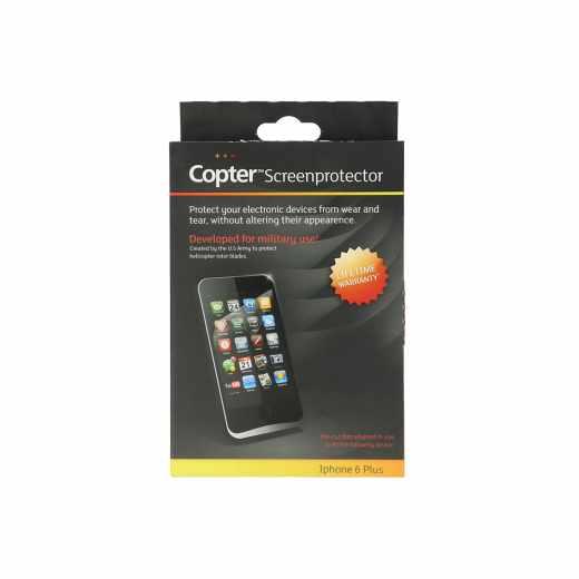 Copter Panzer Glas ScreenProtector DisplaySchutzfolie Apple iPhone 6 PLUS 6s Plus