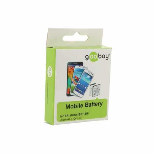 Goobay Akku Sony Ericcson K850 LI-ION Batterie