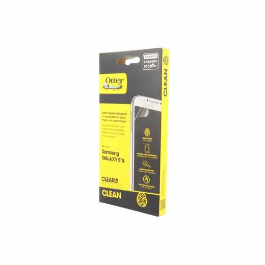 OtterBox Clearly Protected Clean Samsung Galaxy S4 Displayschutzfolie clear