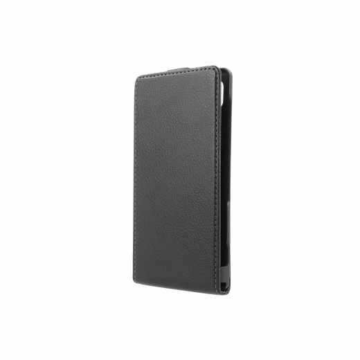 Xqisit Flipcover für Sony Xperia Z2 Schutzhülle KlappTasche Cover schwarz