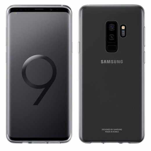 Samsung Schutzhülle Handyhülle Clear Cover Case Galaxy S9+  transparent