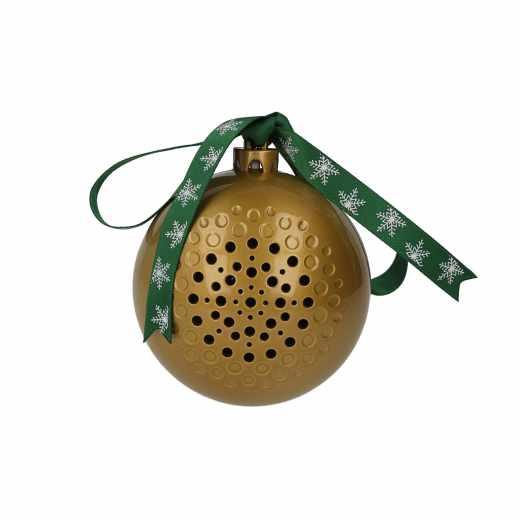 Networx Bluetooth Weihnachtskugel Speaker gold - neu