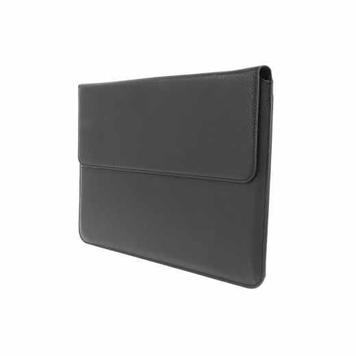 Networx Kunstleder Sleeve für Apple MacBook 12 Zoll Schutzhülle schwarz - neu