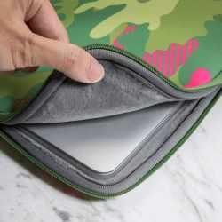 "LAUT Pop Camo Tropical Apple MacBook 13"" Neopren Tasche Schutzhülle Sleeve - neu"