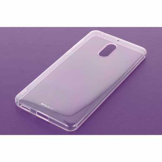 StilGut TPU Case Backcover Schutzhülle Handyhülle für Nokia 6 transparent