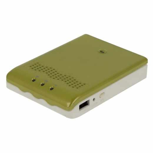 4G-Systems XS BOX Move WLAN Hotspot mobiles Internet grün - sehr gut