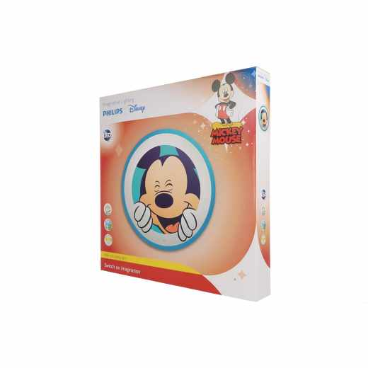 Philips Disney Ceiling Lampe Philips Disney Micky Maus LED 7.5 W blau/weiß