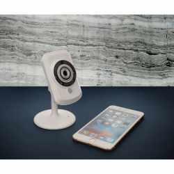 D-Link SmartHome Wireless IP Überwachungskamera Tag/Nacht AufzeichnungenDCS-942L - sehr gut