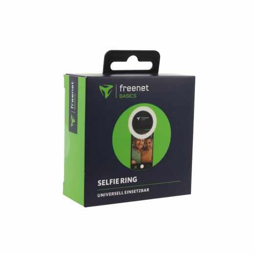 freenet Basics Selfie Ring Kamera Licht LED schwarz - sehr gut