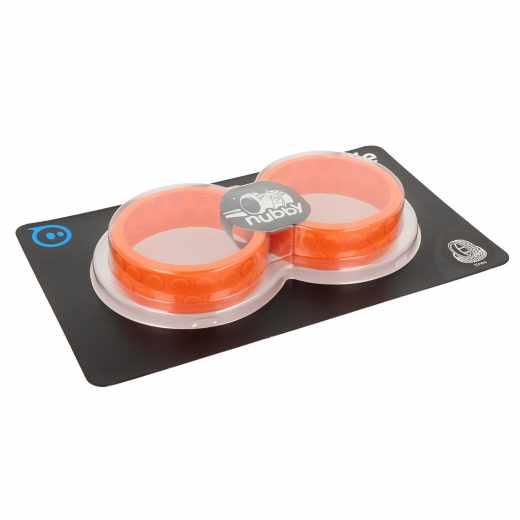 Sphero Zubehör für Ollie Reifen Nubby Tires Geländereifen orange