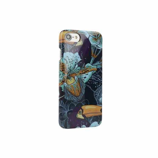 Networx Jungle Case Apple iPhone 7 Tukan Schutzhülle Handy Cover Backcover blau