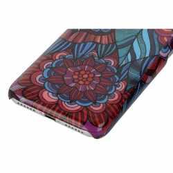 Networx Jungle Case Apple iPhone 7 Blume Schutzhülle Handy Cover Backcover rot