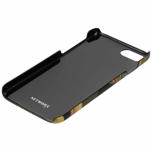 Networx Jungle Case iPhone 7 Tukan Schutzhülle Handy Cover Backcover gelb