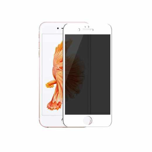 Networx 3D Privacy Schutzglas Glas Apple iPhone 6/6s Displayschutz weiß