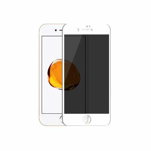 Networx 3D Privacy Schutzglas für Apple iPhone 7 Displayschutz weiß