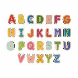 Marbotic Lernspiel Set Kinder Holz-Buchstaben u...