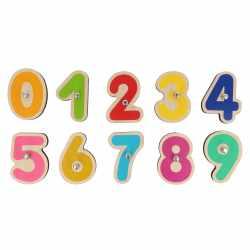 Marbotic Lernspiel Set Kinder Holz-Buchstaben u Holz-Zahlen Apple Android Tablet