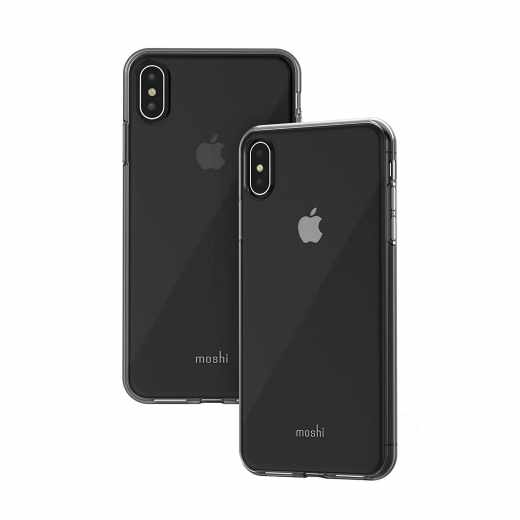 Moshi Vitros L Schutzhülle Apple iPhone XS Max Schutzgehäuse Backcover klar - neu