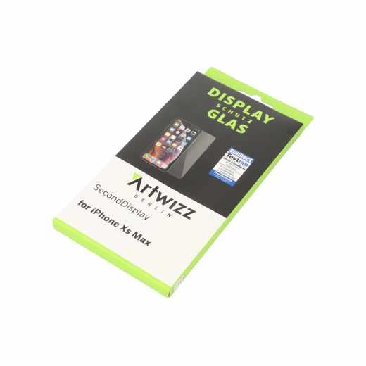 Artwizz SecondDisplay Apple iPhoneXsMax Displayschutz Folie Sicherheitsglas klar