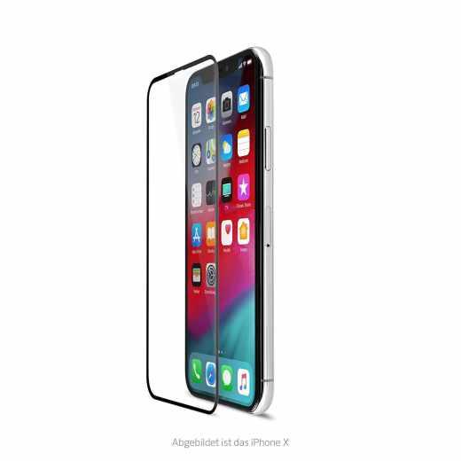 Artwizz Curved Display für Apple iPhone XS Max Vollsichtschutz Displayschutz klar