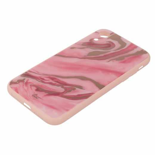LAUT Mineral Glass M Schutzhülle für Apple iPhone XR Case pink