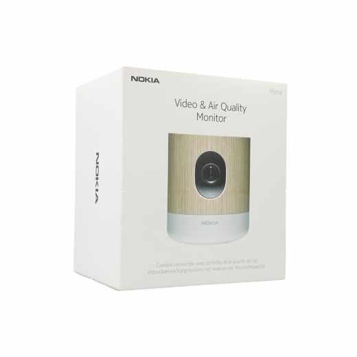 Nokia Home Überwachungskamera Sicherheit per Smartphone Raumluftanalyse WLAN