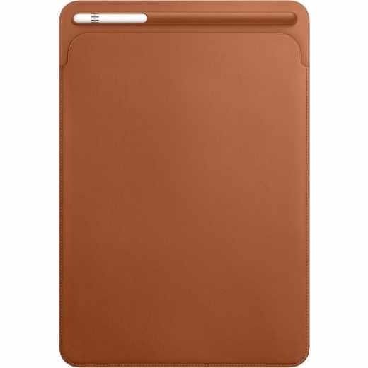 Apple Leather Sleeve iPad Pro 10,5 Zoll Lederhülle mit Eingabestifthalter braun