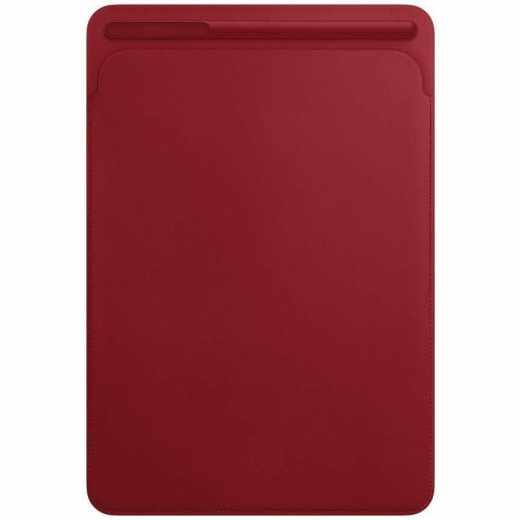 Apple Lederhülle für iPad Pro 10,5 Zoll Schutzhülle rot - neu