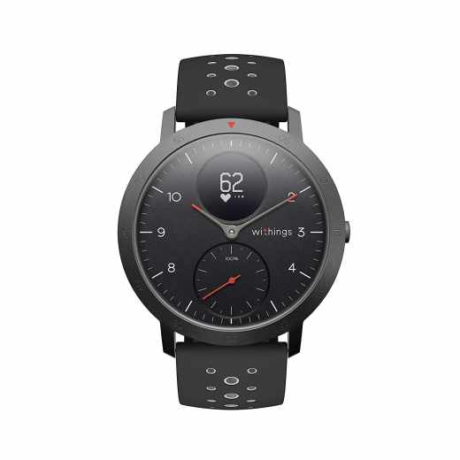 Withings Steel Hybrid Multi Sport Tracking Smartwatch Uhr Herzfrequenz schwarz- wie neu