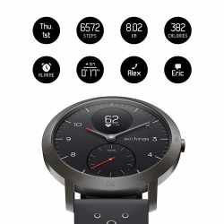 Withings Steel Hybrid Multi Sport Tracking Smartwatch Uhr...