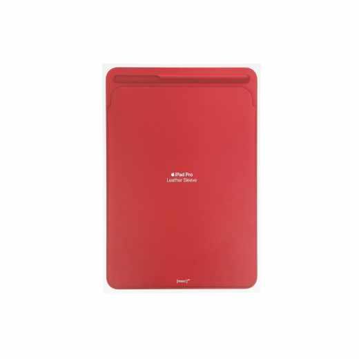 Apple Leather Sleeve iPad Pro 10,5 Zoll Lederhülle Schutzhülle Tabletschutz rot - wie neu