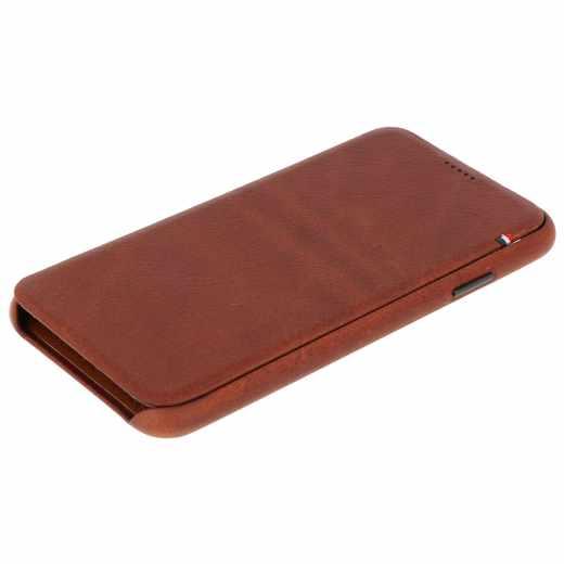 Decoded Slim Wallet Apple iPhone XS Max Leder-Schutzhülle Portemonnaie braun - neu