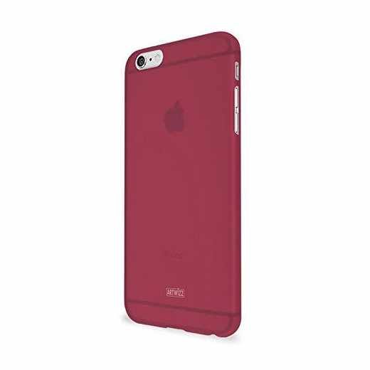 Artwizz Rubber Clip für iPhone 6  Schutzhülle Backcover Soft-Touch berry - neu