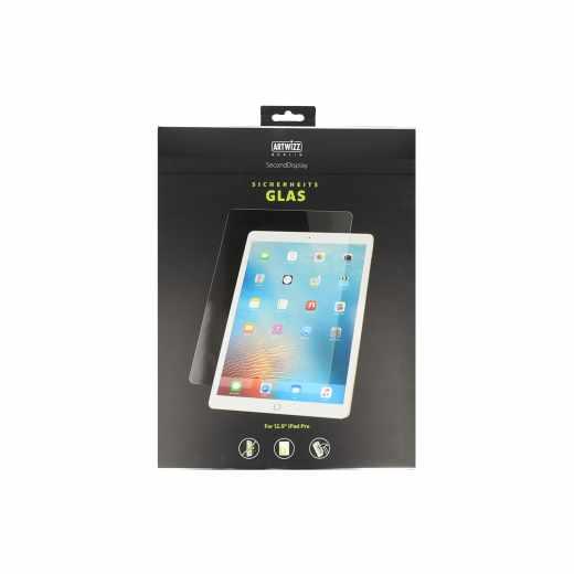 Artwizz Schutzglas für iPad Pro 12,9 Zoll (2017) Displayschutz Sicherheitsglas klar