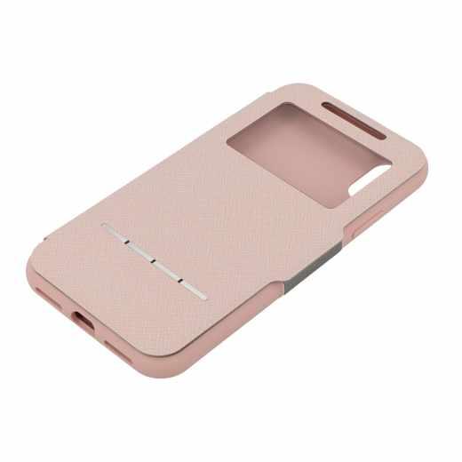 moshi SenseCover Apple iPhone X Schutzhülle Portfolio Tasche rosa - neu